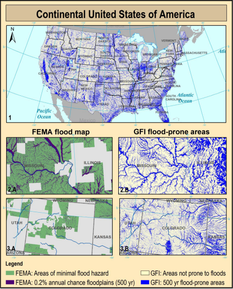 Geomorphic classifiers for flood-prone areas delineation for data-scarce environments