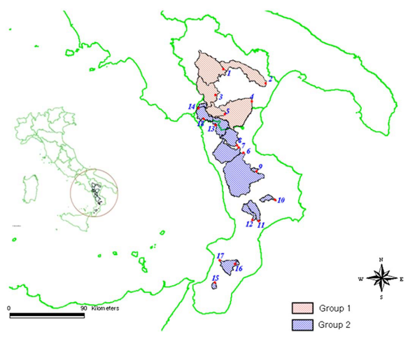 Performance of a Theoretical Model for the Description of Water Balance and Runoff Dynamics in Southern Italy