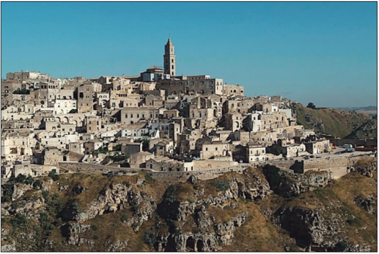 Water resources management in the city of sassi (Matera)