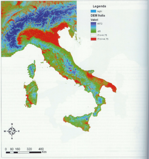 THE FLOOD EXPOSURE OF THE ITALIAN TERRITORY THROUGH A GEOMORPHOLOGIC APPROACH