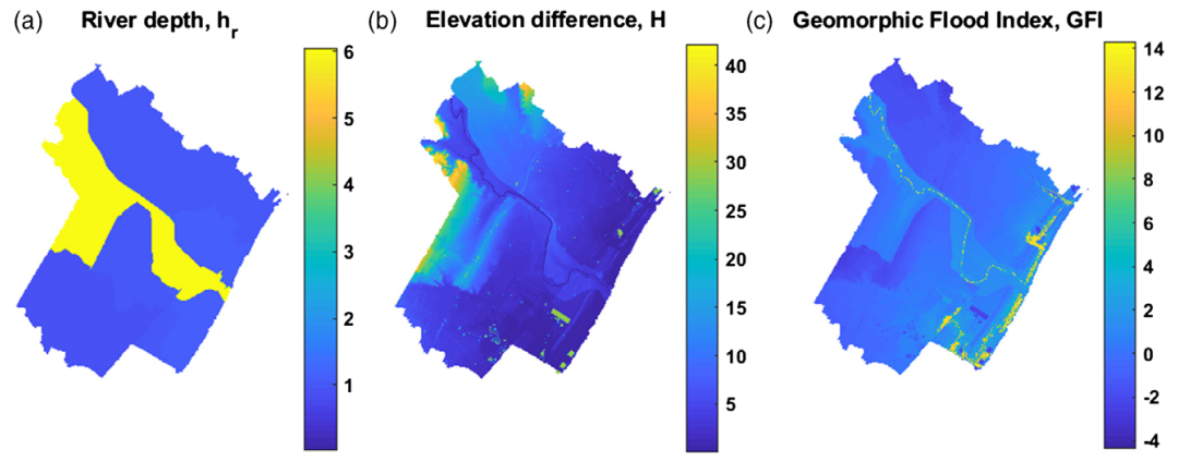 A digital elevation model based method for a rapid estimation of flood inundation depth