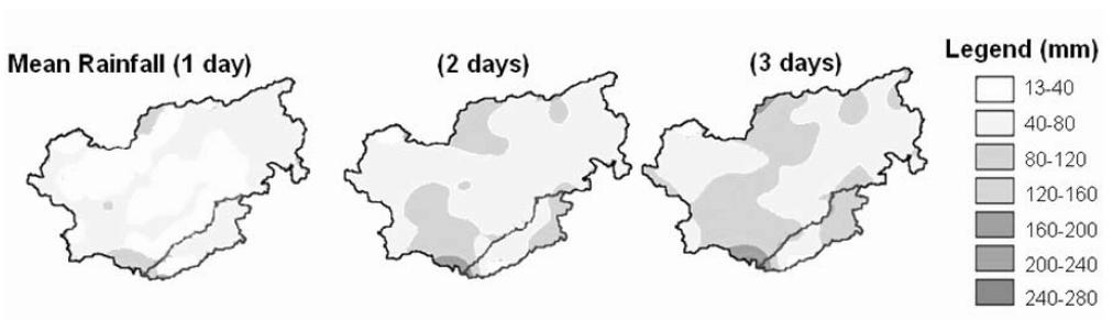 Flood Volume Estimation and Flood Mitigation: Adige river basin