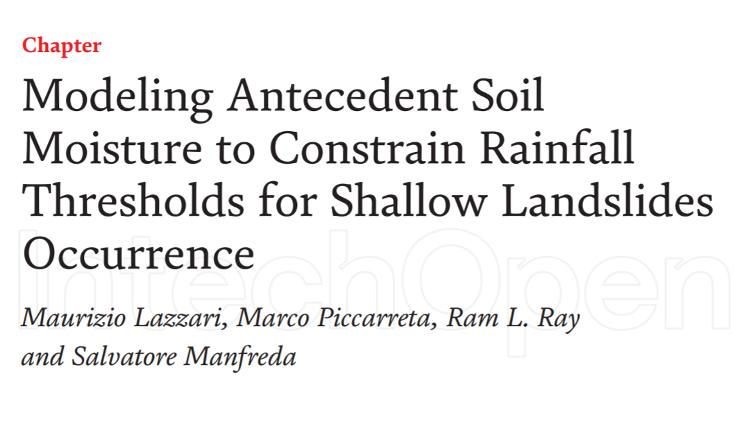 Modeling Antecedent Soil Moisture to Constrain Rainfall Thresholds for Shallow Landslides Occurrence
