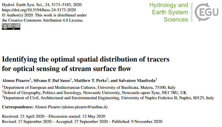 Optimal spatial distribution of tracers for velocimetry applications
